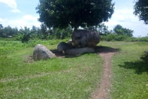 The Water Project: Musango Community, Jared Lukoko Spring -  Community Landscape