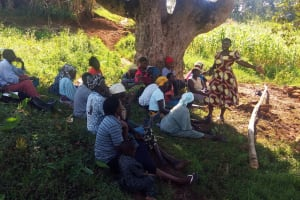 The Water Project: Shitoto Community, William Manga Spring -  Training