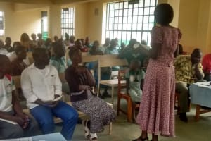 The Water Project: Ebusiratsi Special Primary School -  Training