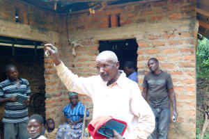 The Water Project: Shikoti Community, Amboka Spring -  Mr Pasiliano Amboka