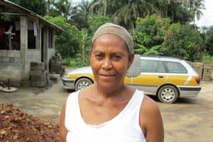 The Water Project: Rosint Community, 16 Gilbert Street -  Gloria Fakondoh