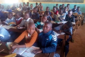 The Water Project: Emmaloba Primary School -  In Class