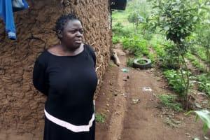 The Water Project: Shiyunzu Community, Imbukwa Spring -  Mrs Imbukwa
