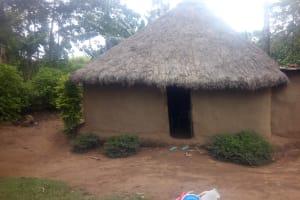 The Water Project: Mwituwa Community, Shikunyi Spring -  House
