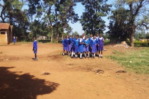 The Water Project: Mumias Complex Primary School -  School Compound