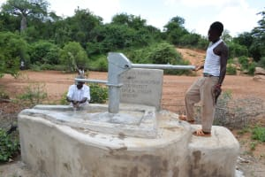 The Water Project: Karuli Community C -  Clean Water