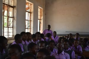 The Water Project: Matheani Secondary School -  Training
