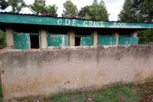 The Water Project: Madivini Primary School -  Latrines
