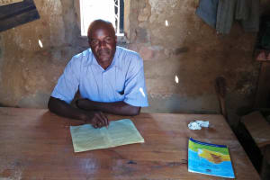 The Water Project: Shitsava Primary School -  Principal