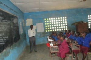 The Water Project: Sankoya Community, Prophecy Primary School -  In Class