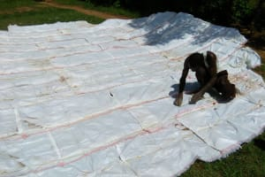 The Water Project: Emusoma Primary School -  Tank Construction