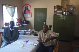 The Water Project: Mumias Complex Primary School -  Office