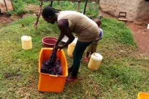 The Water Project: Shiyunzu Community, Imbukwa Spring -  Laundry