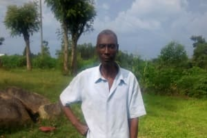 The Water Project: Musango Community, Jared Lukoko Spring -  Mr Lukoko