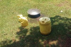 The Water Project: Ataku Community, Ataku Spring -  Water Containers