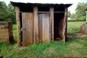 The Water Project: El'longo Secondary School -  Latrines