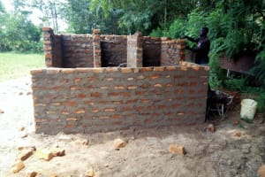 The Water Project: Shiyabo Secondary School -  Latrine Construction