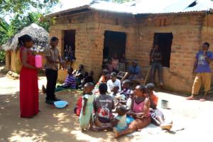 The Water Project: Shikoti Community, Amboka Spring -  Training