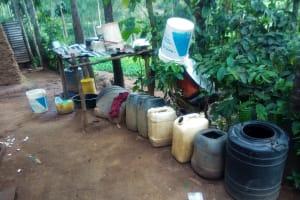 The Water Project: Shilakaya Community, Shanamwevo Spring -  Water Storage