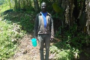 The Water Project: Mwichina Community, Mwichina Spring -  Mr Abuneri Atswenje
