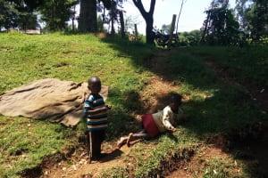 The Water Project: Sharambatsa Community, Mihako Spring -  Children Playing