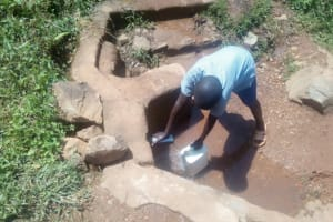 The Water Project: Emmaloba Primary School -  Fetching Water