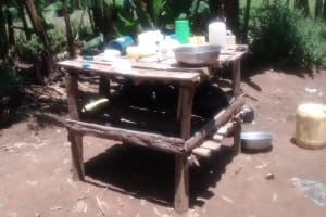 The Water Project: Musango Community, Dawi Spring -  Dish Rack