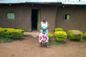 The Water Project: Esembe Community, Chera Spring -  Mrs Chera At Her Home