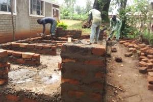 The Water Project: Lureko Girls Secondary School -  Latrine Construction