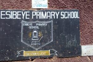 The Water Project: Esibeye Primary School -  School Sign