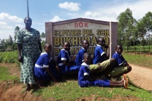 The Water Project: Bukhubalo Primary School -  School Sign