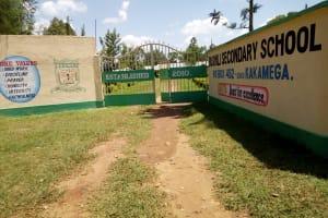 The Water Project: Bushili Secondary School -  School Entrance
