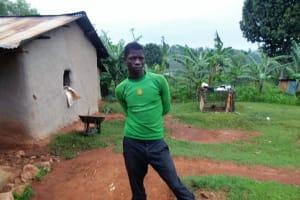 The Water Project: Chandolo Community, Joseph Ingara Spring -  Joseph Ingara At His Homestead