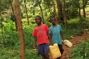 The Water Project: Elukani Community, Ongari Spring -  Walking To The Spring