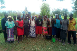 The Water Project: Luyeshe Community, Simwa Spring -  Training Participants