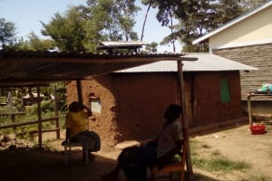 The Water Project: Muyere Secondary School -  School Cooks At Kitchen
