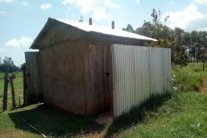 The Water Project: Bushili Secondary School -  Latrines