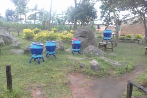 The Water Project: Chebunaywa Primary School -  Lifestraw Containers