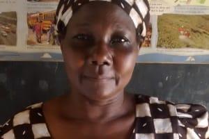The Water Project: Chandolo Community, Joseph Ingara Spring -  Jane Musembe