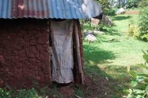 The Water Project: Ivulugulu Community, Ishangwela Spring -  Latrine