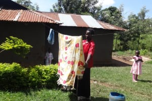 The Water Project: Elukuto Community, Isa Spring -  Household