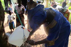 The Water Project: Benke Community, Waysaya Road -  Hand Washing