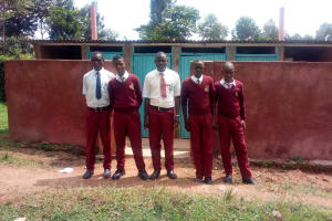 The Water Project: George Khaniri Kaptisi Mixed Secondary School -  Latrines