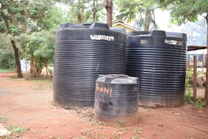 The Water Project: Kaani Lions Secondary School -  Plastic Tanks
