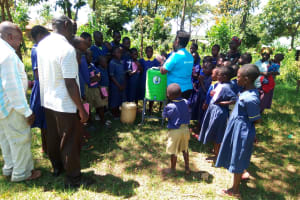 The Water Project: Iyenga Primary School -  Training