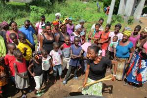 The Water Project: Benke Community, Waysaya Road -  Breaking First Ground
