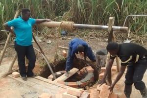 The Water Project: Rubani-Kyawalayi Community -  Well Construction