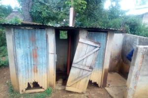 The Water Project: Shanjero Secondary School -  Latrines