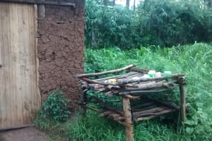 The Water Project: Musango Community, M'muse Spring -  Kitchen
