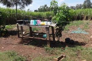 The Water Project: Elukuto Community, Isa Spring -  Dish Rack